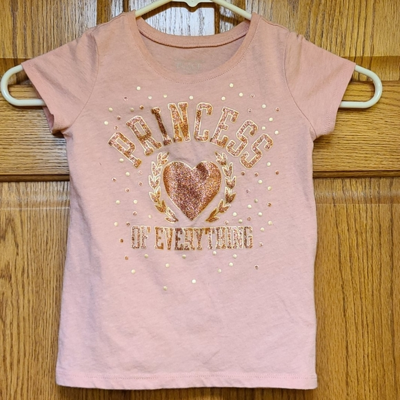 4 for $12 girls tee, pink, sz 4t